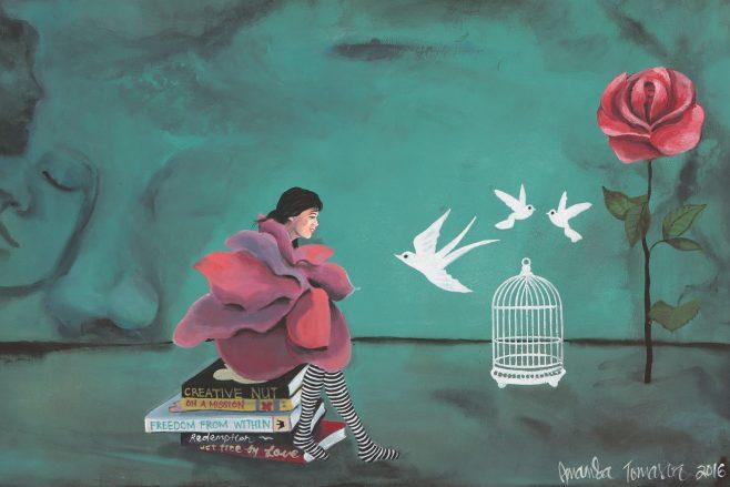 Original art by Amanda Tomasoa for sale